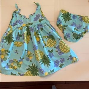 Baby gap pineapple dress